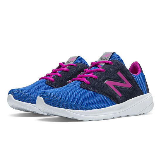WOMEN'S New Balance 1320 Electric Blue with Beetroot Purple