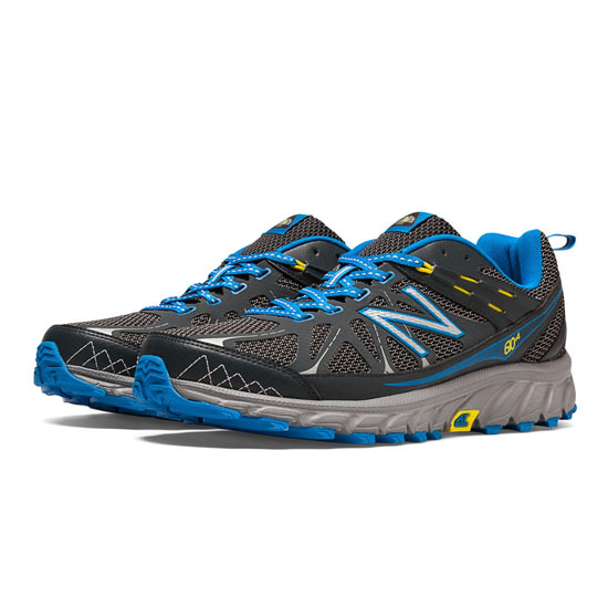 WOMEN'S New Balance 610v4 Lead with Electric Blue & Lemon Drop