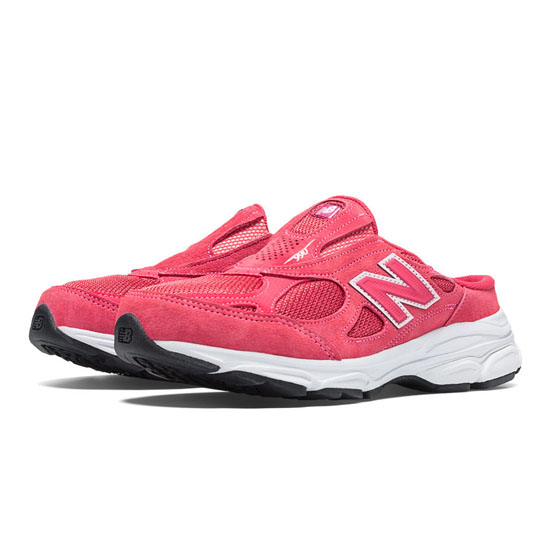 WOMEN'S New Balance 990v3 Watermelon with White