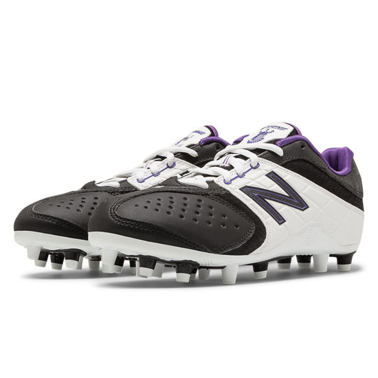 WOMEN'S New Balance Low-Cut 5464 Black with White & Purple