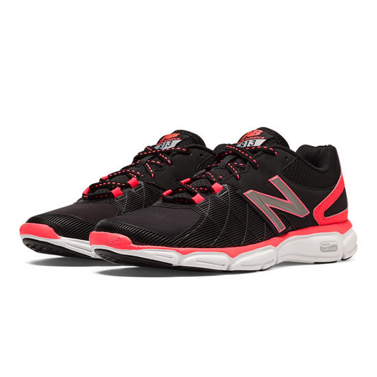 WOMEN'S New Balance 813v3 Black with Bright Cherry