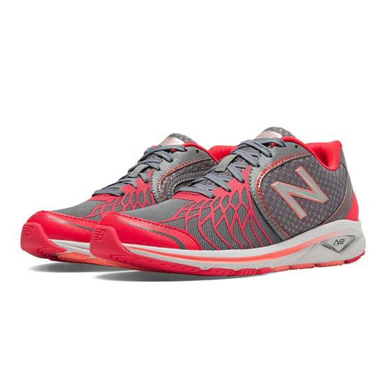 WOMEN'S New Balance Pink Ribbon 1765v2 Grey with Coral Pink