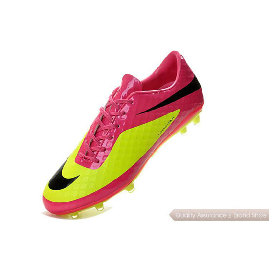 Nike Hypervenom Phantom FG peach/yellow/black Shoes