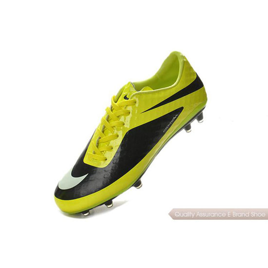 Nike Hypervenom Phantom FG yellow/black/white Shoes