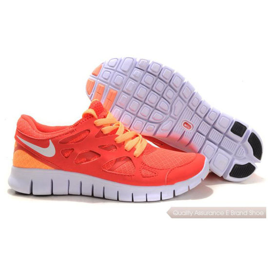 Nike Free 2014 Womens Run Orange