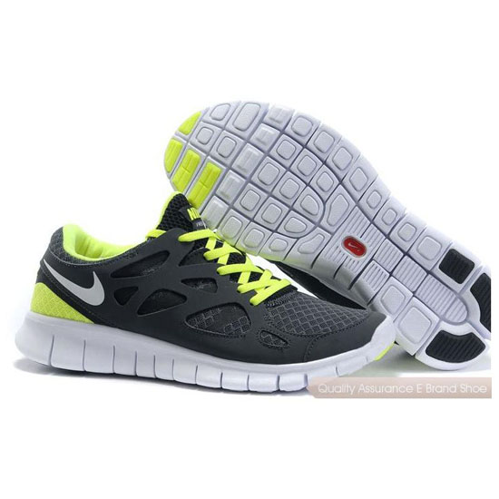 Nike Free 2014 Womens Green Gray