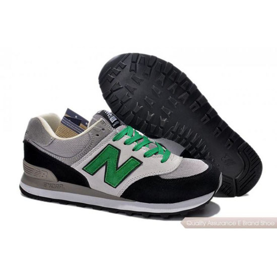 New Balance Mens green/gray/black