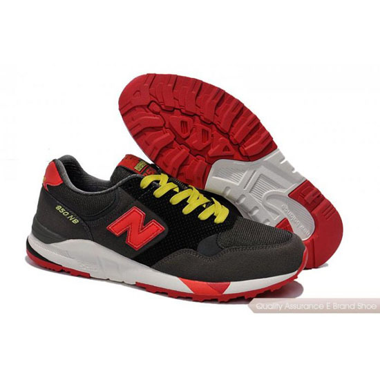 New Balance Mens red/black/yellow