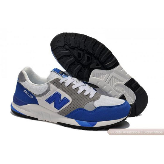 New Balance Mens blue/white