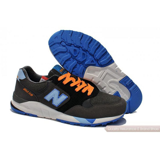 New Balance Mens orange/black/blue
