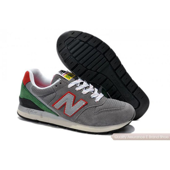 New Balance Mens green/red/gray