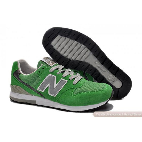 New Balance Mens green/gray