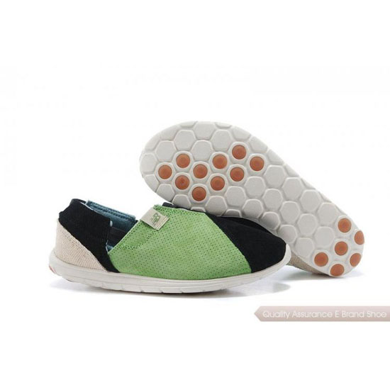 New Balance Womens green/black/white