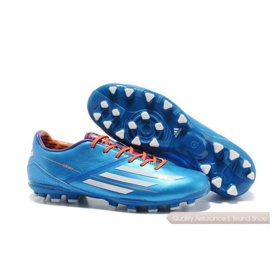 Adidas Soccer Sneakers Mens blue/white/orange