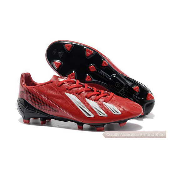 Adidas Soccer Sneakers Mens red/white/black