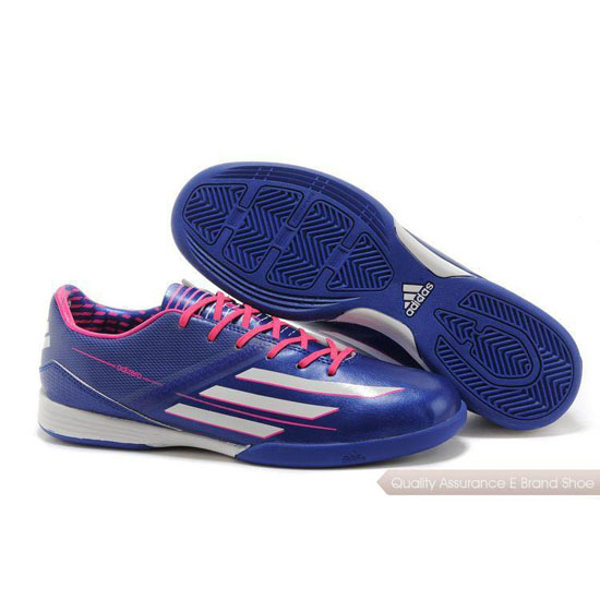 Adidas Soccer Sneakers Mens blue/peach/white