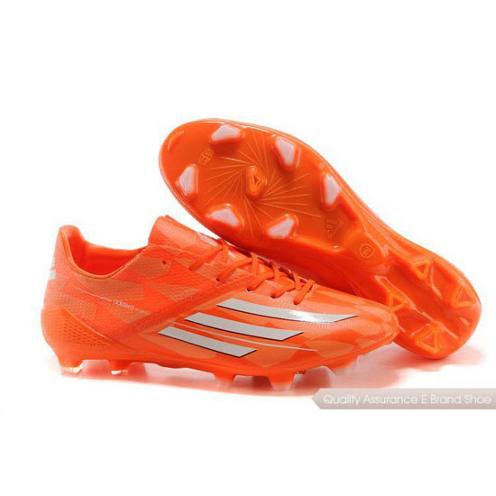 Adidas Soccer Sneakers Mens orange/white