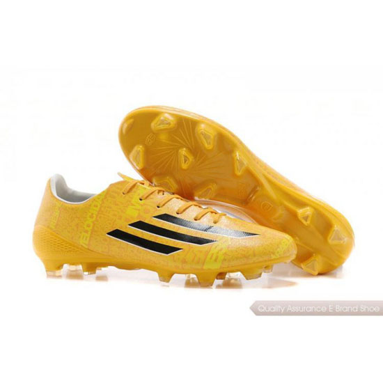 Adidas Soccer Sneakers Mens yellow/black