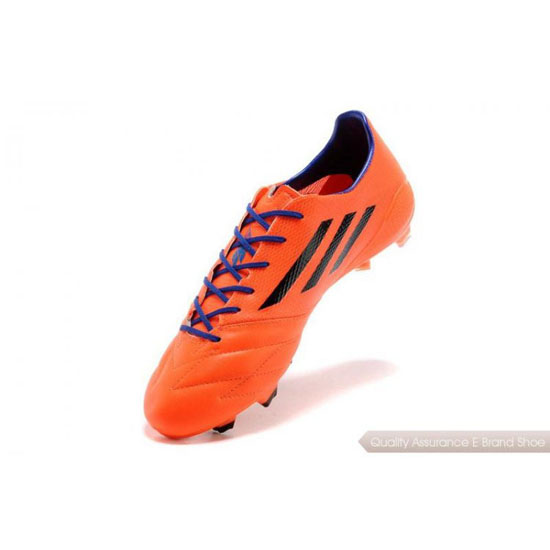 Adidas Soccer Sneakers Mens orange/purple/black