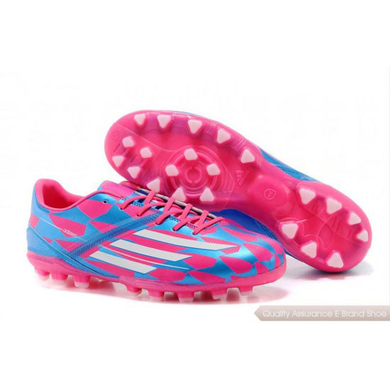 Adidas Soccer Sneakers Mens blue/pink/white