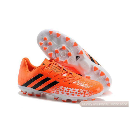 Adidas Soccer Sneakers Mens orange/black/white
