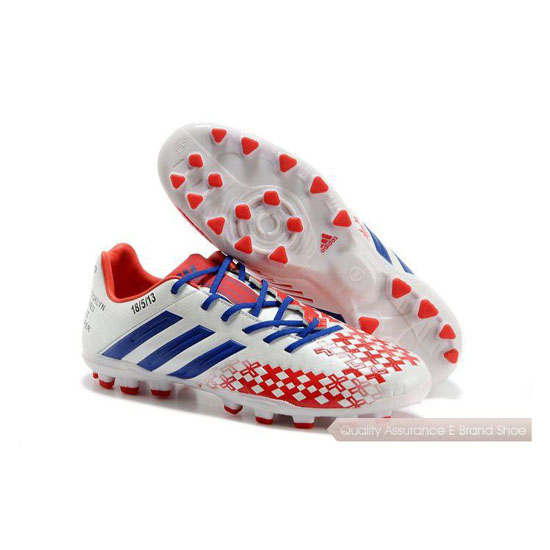 Adidas Soccer Sneakers Mens red/blue/white