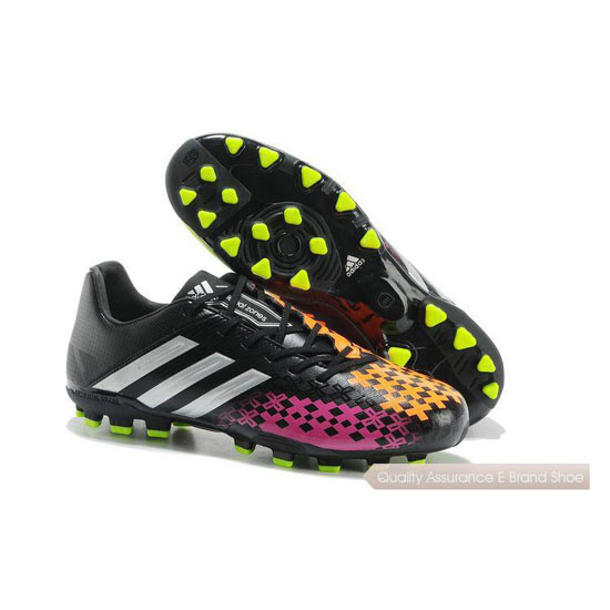 Adidas Soccer Sneakers Mens orange/peach/black