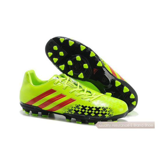 Adidas Soccer Sneakers Mens yellow/red/black
