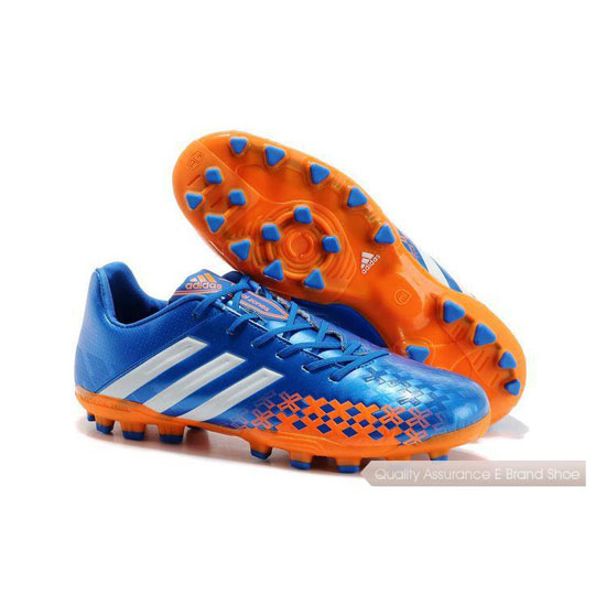 Adidas Soccer Sneakers Mens blue/orange/white