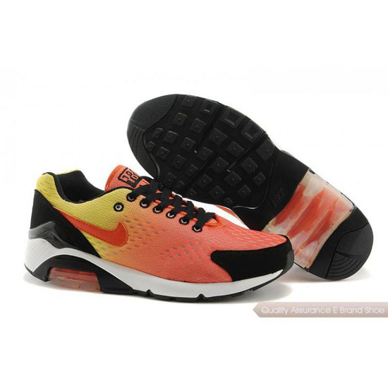 Nike AIR MAX 180 EM Men Orange Yellow Black Shoes
