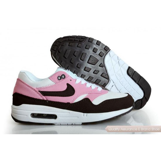 Nike Air Max 1 Womens Black Light Pink Shoes