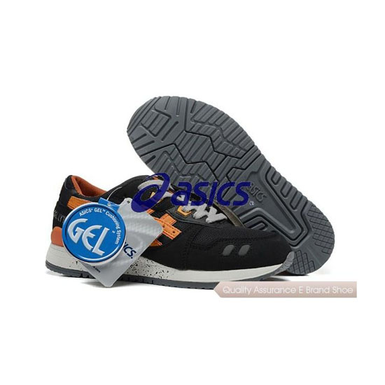 ASICS GEL-Lyte III Mens Black Orange