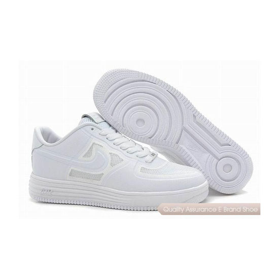 Nike Air Force 1 Mens All White Shoes