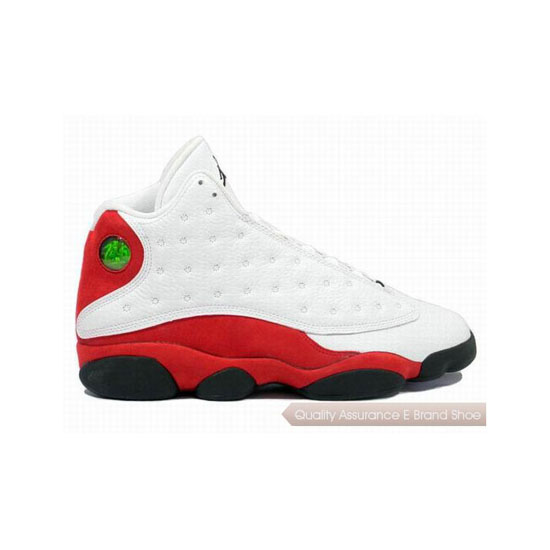 Nike Air Jordan XIII 13 Retro White/Black-Varsity Red Sneakers