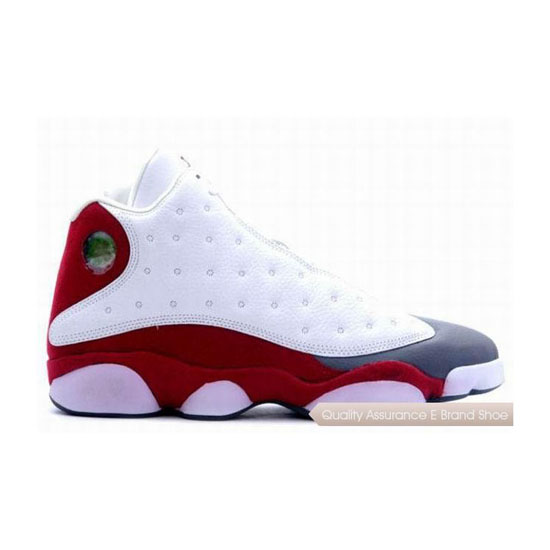 Nike Air Jordan XIII 13 Retro White/Team Red-Flint Grey Sneakers