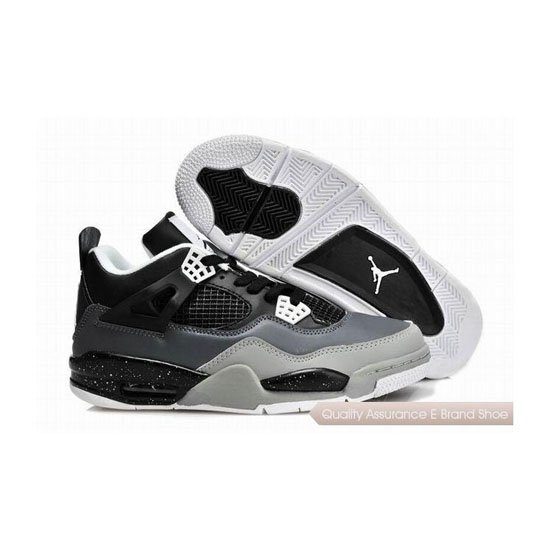 Nike Air Jordan 4 Womens Oreo Sneakers
