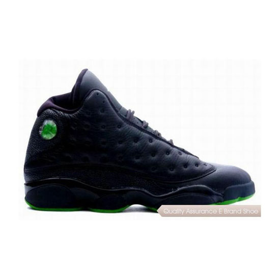 Nike Air Jordan XIII 13 Retro Altitudes (Black/Altitude Green) Sneakers