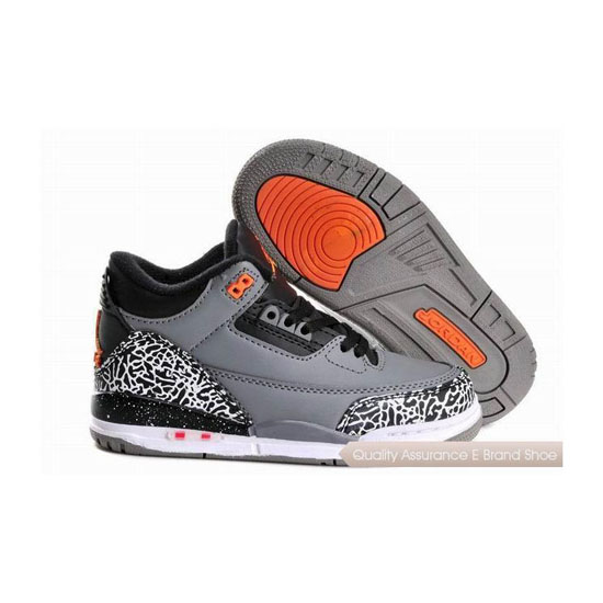 Nike Kids Air Jordan 3 Fear Pack Sneakers