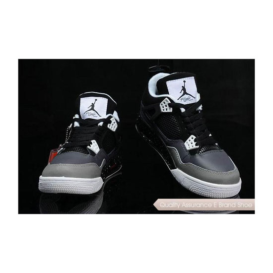 Nike Air Jordan 4 Stealth Oreo Sneakers