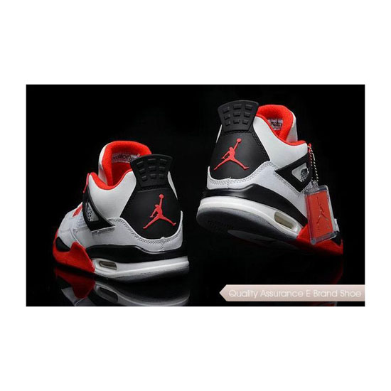 Nike Air Jordan 4 Fire Red Sneakers