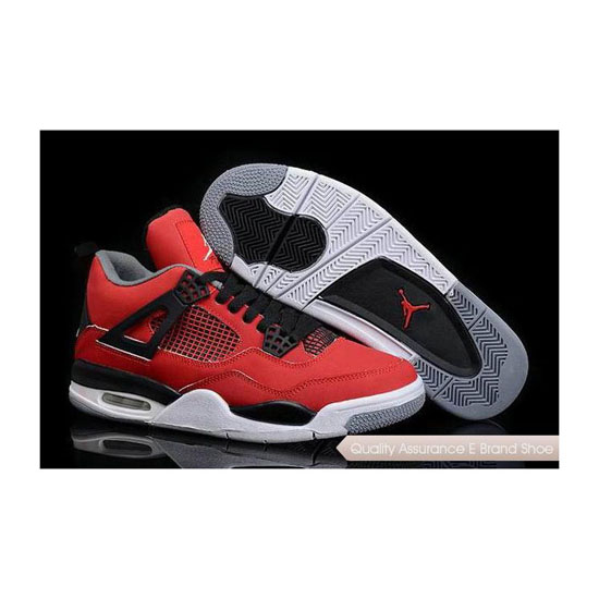 Nike Air Jordan 4 Fire Red Toro Sneakers