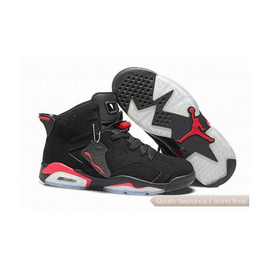 Nike Air Jordan 6 Retro Black Red Sneakers