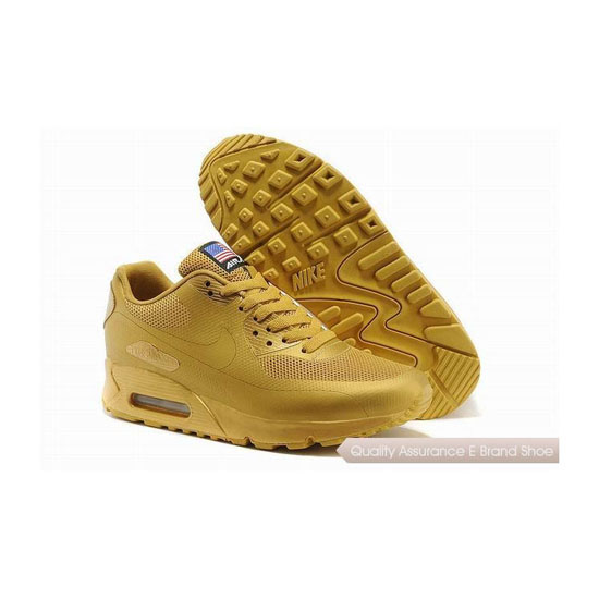 Nike Air Max 90 HYP QS Unisex All Yellow Sneakers