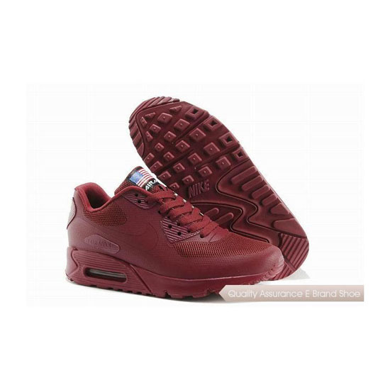 Nike Air Max 90 HYP QS Womens All Winered Sneakers