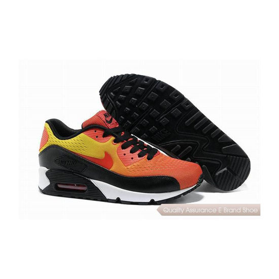 Nike Air Max 90 PRM EM Unisex Orange Black Casual Shoes