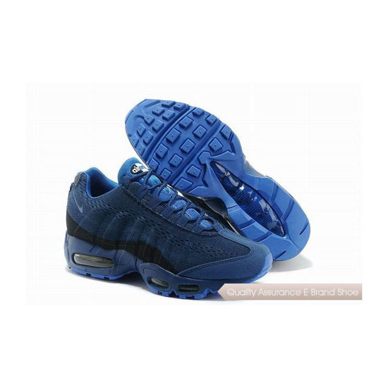 Nike Air Max 95 EM Mens All Blue Sneakers