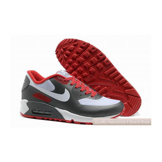 Nike Air Max 90 HYP FRM Unisex Gray White Sneakers