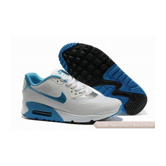 Nike Air Max 90 HYP FRM Unisex White Blue Sneakers