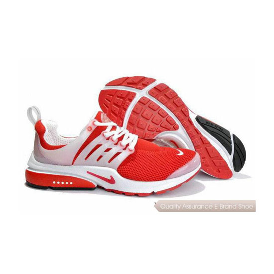 Nike Air Presto Mesh Womens Sneakers Red White