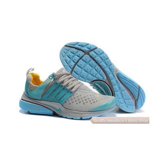 Nike Air Presto 2 Womens Carving Grey Blue Yellow